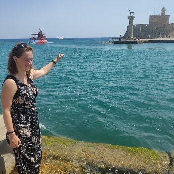 Náš itinerář: Řecko, ostrov Rhodos